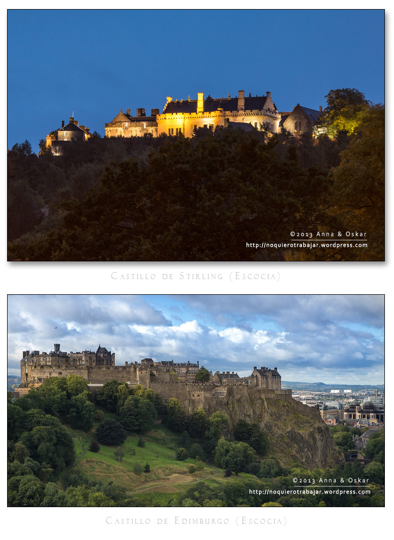 Stirling & Edimburgo